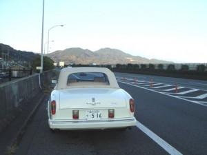東名高速の油井辺り-大胆にも路駐でパチリ