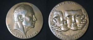 ポール・テシエから技術を学んだことの証であるTessier Medal