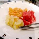 16pフルーツのシロップかけ 15