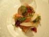 前菜ー1蟹と根菜のサラダ